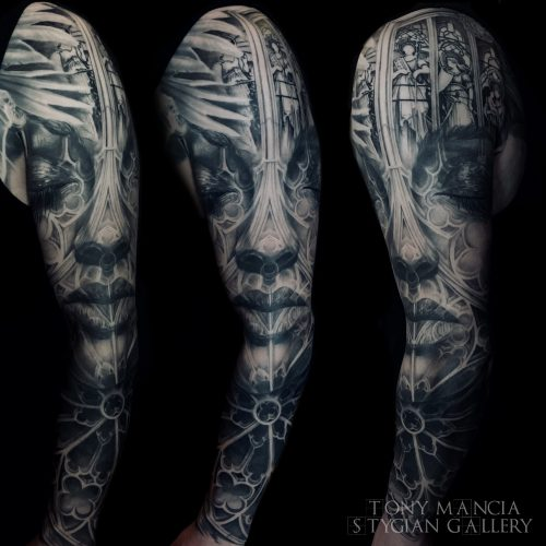 large cathedral sleeve 2