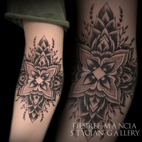 elbow-mandala-leaves-floral